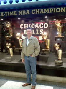 Brian at the United Center
