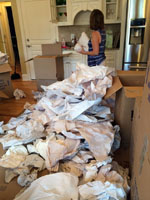 unwrapping Nikki's Kitchen