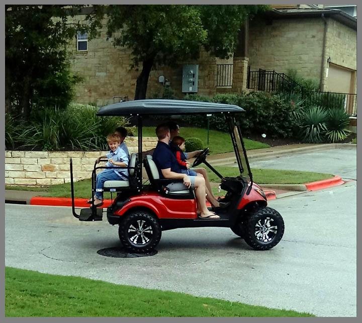 Papa's New Golf Cart | Marcia Furrow